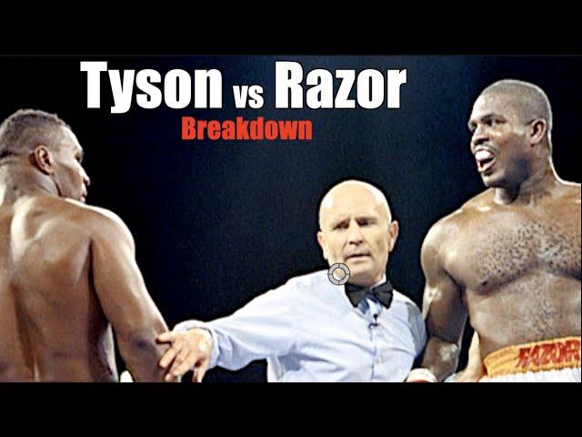 Iron Mike Tyson vs Razor Ruddock Explained - Smash Punch vs Peekaboo Breakdown