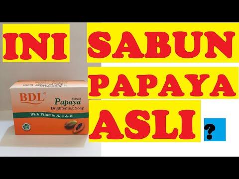 Cara Membedakan Sabun Papaya Rdl Asli Dan Palsu Bisabo Channel