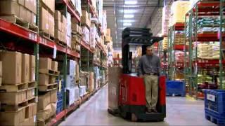 Raymond 7000 Series Reach Fork Truck