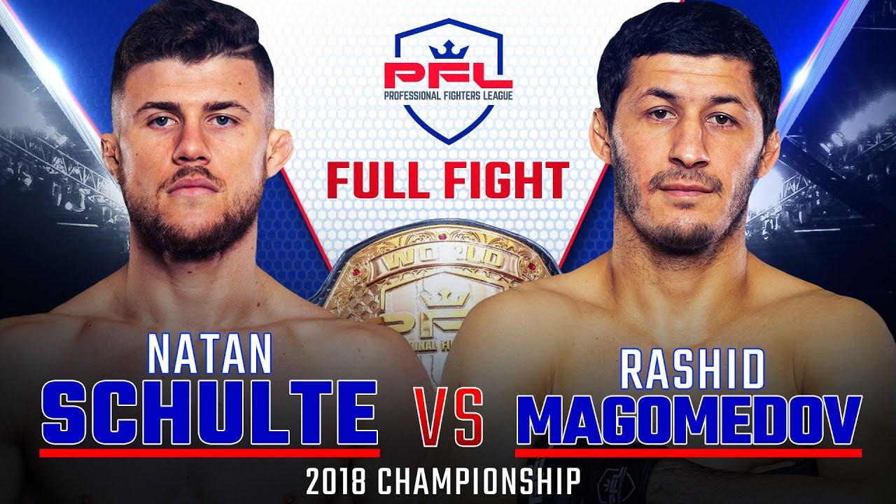 Титульный бой PFL 11: Натан Шульте - Рашид Магомедов