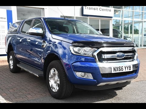 Used Ford Ranger Pick Up Double Cab Limited 2 3.2 TDCi 200 ...