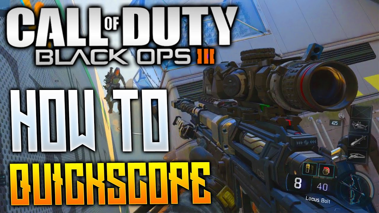 how to quickscope black ops