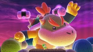 Yoshi's Woolly World 100% Walkthrough Part 6 - World 6 Finale