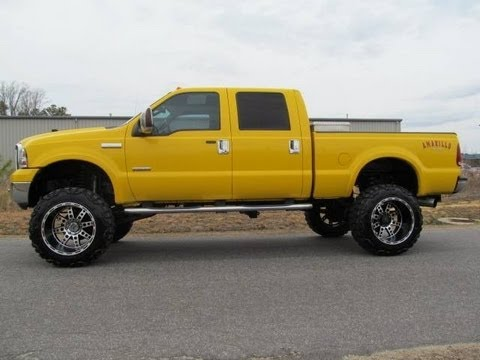 2006 ford f 350 amarillo diesel lariat lifted truck for sale youtube. Black Bedroom Furniture Sets. Home Design Ideas