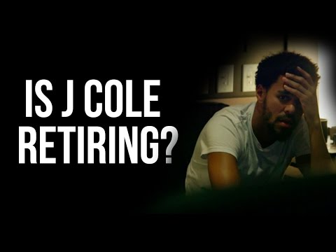 J. Cole Says He's Never Doing Features Anymore.....Is He Retiring?