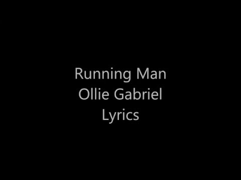 Running Man Ollie Gabriel Lyrics