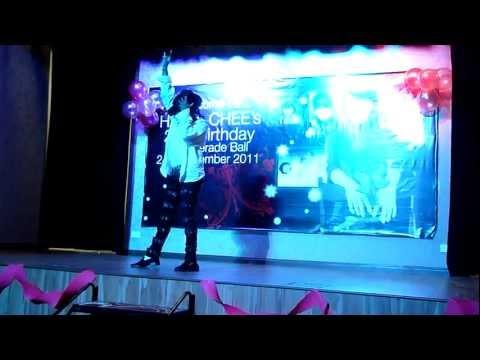 Hazel Chee : 21st Birthday Masquerade Ball - 24th Dec 2011 - MJ Impersonator