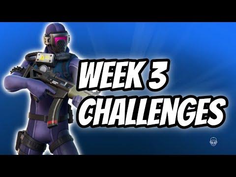 Fortnite Season 3 Week 3 Challenges | Full Challenge Guide