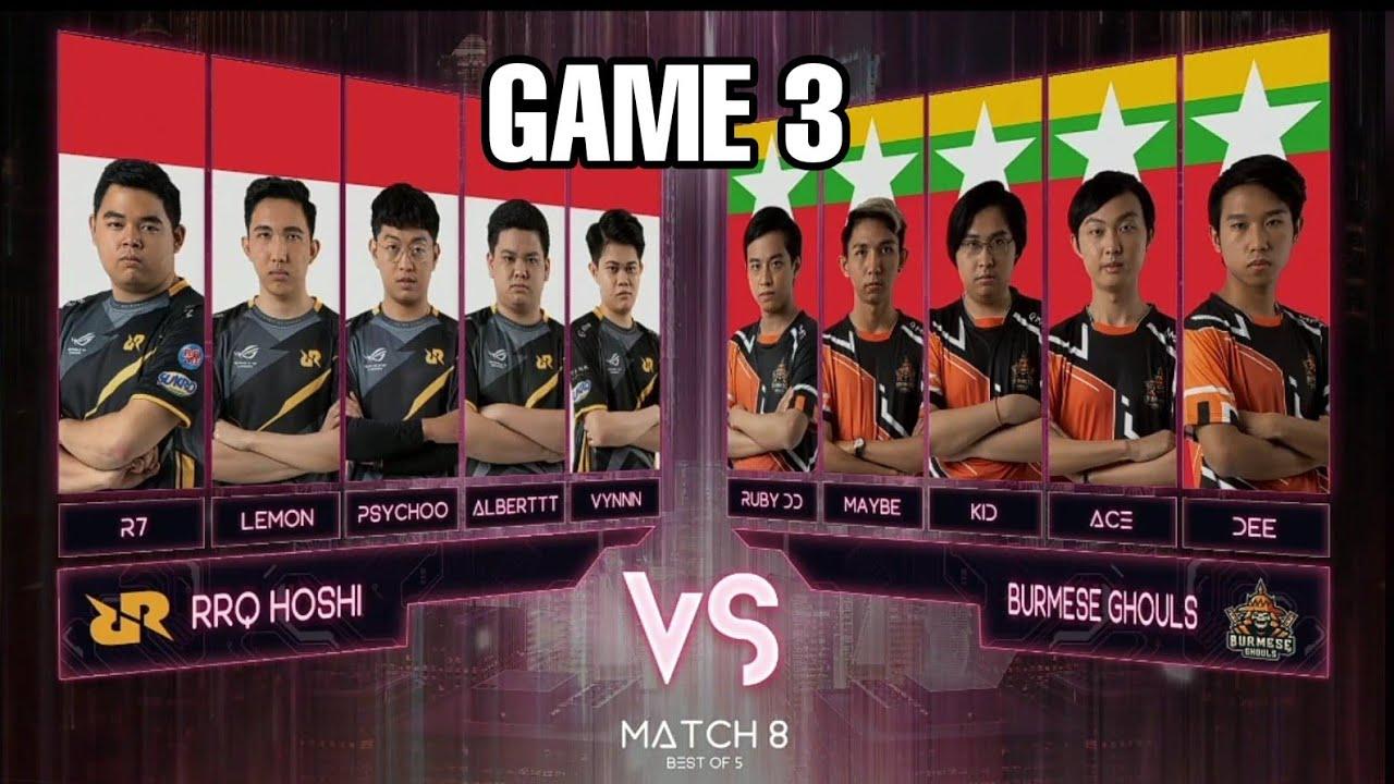 Download BG Vs RRQ Game 3