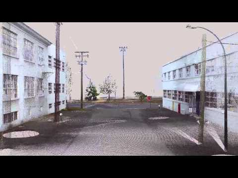 Industrial District - East Vancouver - 3D Laser Scan