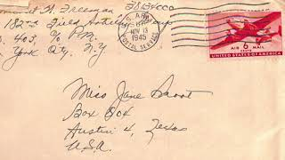 Letters Home— November 12, 1945