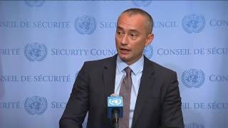 Nickolay Mladenov (Special Coordinator) on situation in the West Bank - SC Stakeout (24 July 2017)