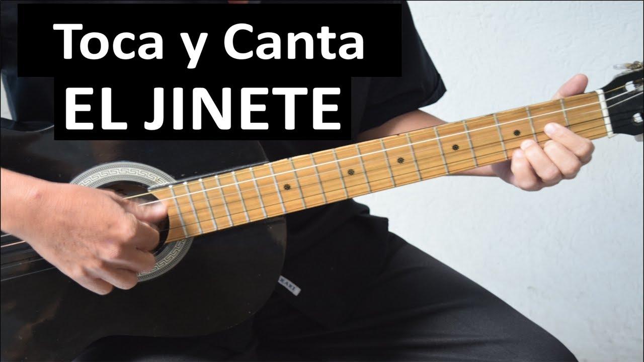 Como tocar EL JINETE de José Alfredo Jiménez
