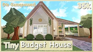 Bloxburg - Tiny Budget House Speed-build  No Gamepasses