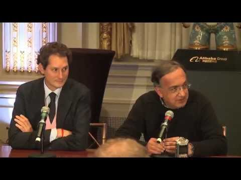 Fiat Chrysler Automobiles NYSE Press Conference