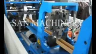 U profile paper edge protector machine, U paper corner machine(CONTACT: info@sanmachinery.com davidgong@sanmachinery.com WhatsApp: +8615863086332., 2016-07-09T03:19:33.000Z)