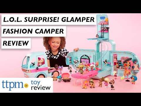L.O.L. Surprise! 2-in-1 Glamper Fashion Camper from MGA Entertainment