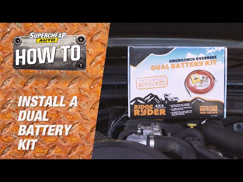 How to - Install A Dual Battery Kit   Supercheap Auto - YouTube
