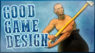 Good Game Design - Getting Over It With Bennett Foddy