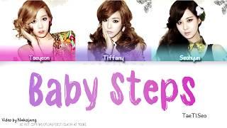TaeTiSeo (소녀시대-태티서) - Baby Steps (Color Coded Lyrics Eng/Rom/Han)