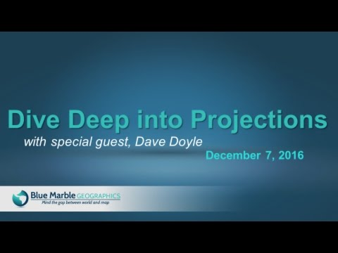 Dive Deep into Projections with special guest, Dave Doyle
