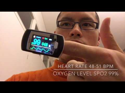 Exercise for lower heart rate naturally & quickly (48-51 BPM, Blood Oxygen Level 9799%)