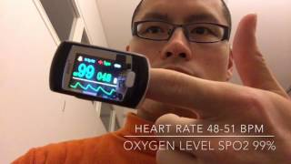 Explanation how to maintain HEART RATE at 48-51 BPM and increase BLOOD OXYGEN LEVEL to 97- 99%