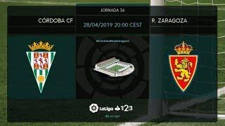Córdoba CF - R. Zaragoza MD36 D2000