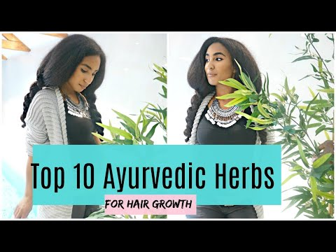 Top 10 Ayurvedic Herbs For Hair Growth | Hair growth challenge