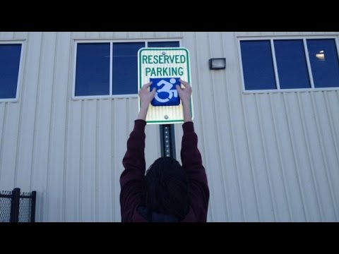There's A Movement To Change The Way We See Handicapped Signs - Newsy