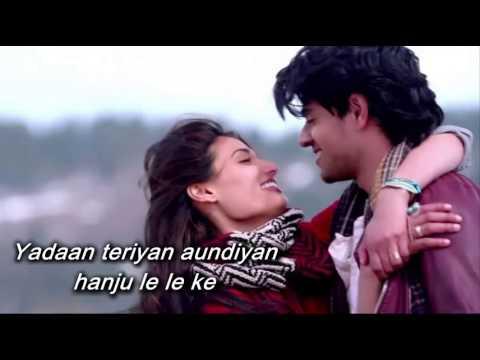 Yadaan Teriyaan SONG with LYRICS from - Hero   Rahat Fateh Ali Khan