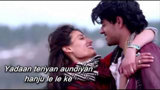 Yadaan Teriyaan SONG with LYRICS from - Hero | Rahat Fateh Ali Khan