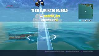 "BUG FORTNITE ""CAMMINARE ON THE WATER"""