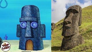 Thaddäus ' Haus gibt Es in der Realen Welt!, 5 Rätsel im Cartoon Spongebob