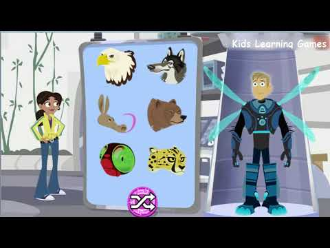 PBS Wild Kratts Games - Wild Kratts Aviva's Power Suit Maker PBS Kids