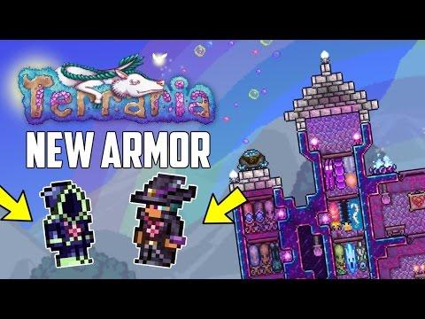 Terraria 1.3.5 NEW DEV SETS! ARKHALIS & LEINFOR ARMOR! NEW WINGS!