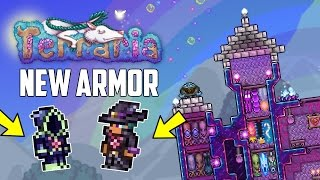 Terraria 1.3.5 NEW DEV ARMOR! ARKHALIS & LEINFOR! NEW WINGS! | PC