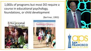 Daniel T Willingham: Improving the Use of Psychological Science in K-12 Education thumbnail