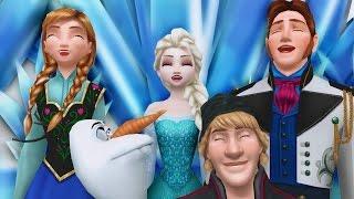 "Frozen - ""OMFG - MEME DESU!"" - funny meme 60fps Disney MMD"