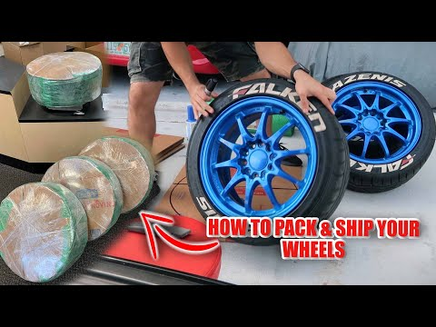 How To Pack And Ship Your Wheels With Tires - Do It Yourself