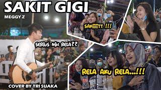Download SAKIT GIGI - MEGGY Z (LIRIK) COVER BY TRI SUAKA DI MENOEWA KOPI JOGJA