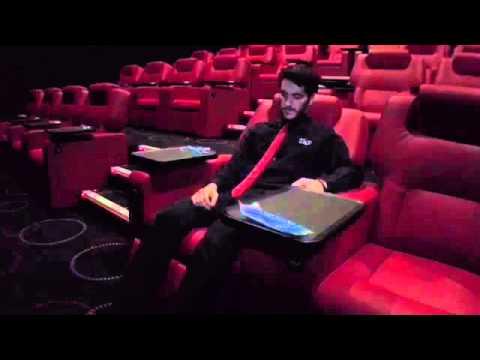 How to use Cineworld VIP Experience luxury reclining