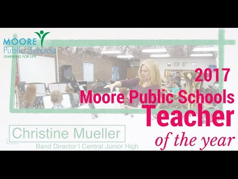 Christine Mueller | 2017 MPS District Teacher of the Year!