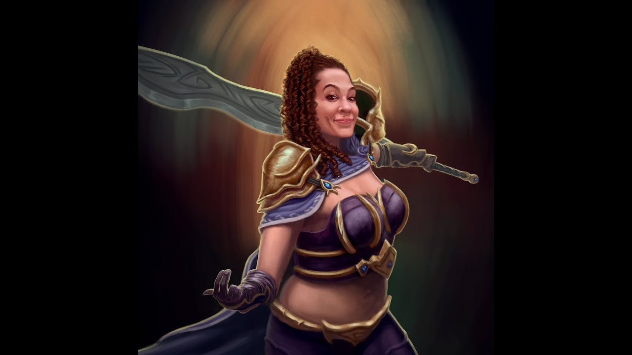 Fantasy female warrior youtube - Fantasy female warrior artwork ...