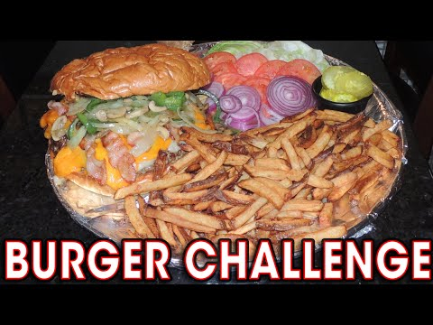 DELICIOUS Burger Challenge in Pittsburgh!!