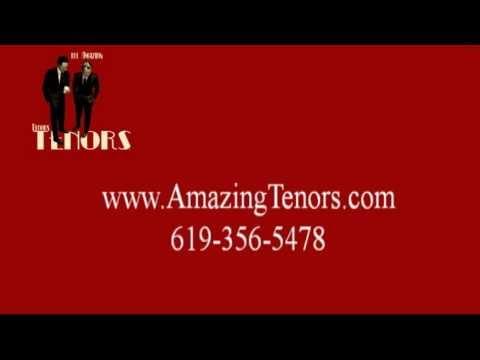 The Amazing Tenors singing New York, New York