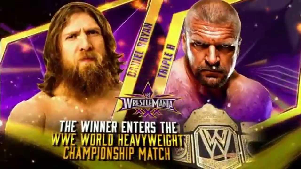 Wrestlemania 30 | Daniel Bryan vs Triple H | Promo Final ...Daniel Bryan Wrestlemania 30 Wallpaper