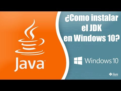 Como instalar el JDK en Windows 10