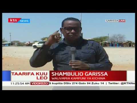 Wanaoaminika kuwa magaidi washambulia kituo cha kampuni ya kichina ya ujenzi wa barabara Garissa