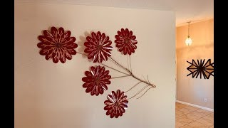 Diy: Flower Tree Branch Wall Decor